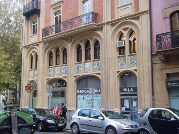 Rehabilitación de fachada en Mazarredo, 9